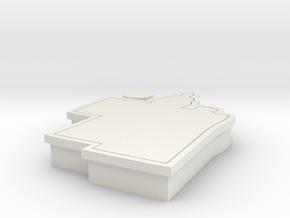 hinamatsuri-cookiecutter in White Natural Versatile Plastic