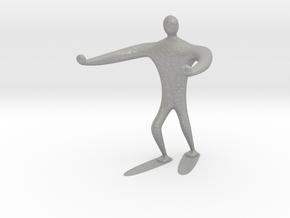 Blind walk statue in Aluminum: 6mm