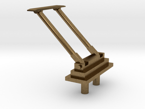PB&SSR Bracket Pole Pantograph in Natural Bronze
