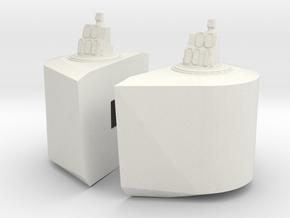 1/96 Yamatosuperstructures part8 in White Natural Versatile Plastic
