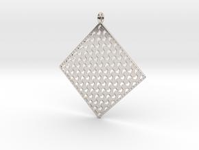 Pendant Pattern  in Platinum