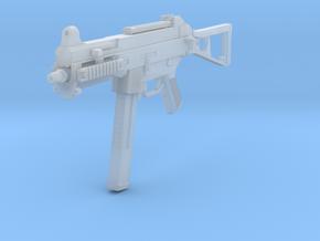 1/10th UMP45gun in Smooth Fine Detail Plastic