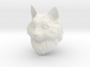 Cat BJD 1/11 in White Natural Versatile Plastic