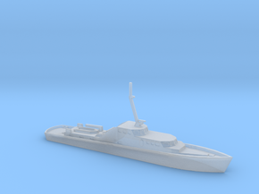 1/700 Scale German Police Boat in Smooth Fine Detail Plastic