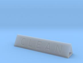 Dishwasher Sign Prism in Smooth Fine Detail Plastic