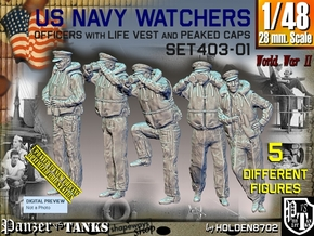 1/48 USN Watchers Set403-01 in Smooth Fine Detail Plastic