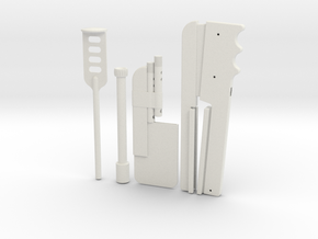 ESB Shin Tools in White Natural Versatile Plastic