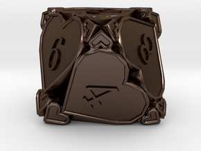 D8 Balanced [Beta] - Hearts in Polished Bronze Steel