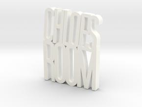 CHLOES-ROOM in White Processed Versatile Plastic