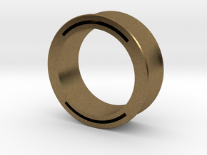 nfc ring 2 -size8 in Natural Bronze