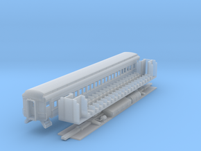 N-scale (1/160) PRR P70R Passenger Car  in Smooth Fine Detail Plastic