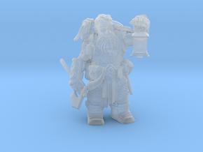Dwarf Ranger in Smooth Fine Detail Plastic