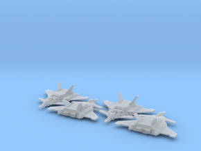 FFB-7Bst Jet Core Booster II Squadron in Smooth Fine Detail Plastic: 1:400