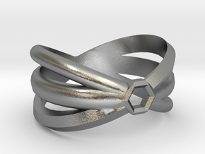 Friendship Ring in Natural Silver