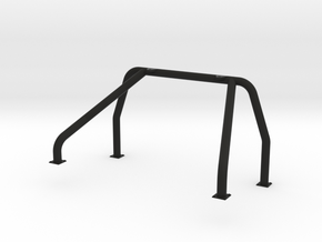 Single Roll Bar for RC4WD Blazer Pickup Conversion in Black Natural Versatile Plastic