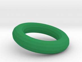 Torus for the toy slides in Green Processed Versatile Plastic