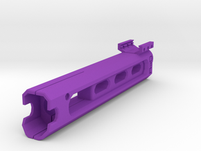 Psycho Laser Sight Attachment in Purple Processed Versatile Plastic