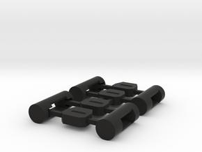 MiSTer Case Universal v5.2 ButtonsKit in Black Premium Versatile Plastic