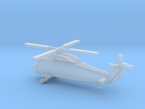 1/300 Scale UH-2 Sea Sprite in Smooth Fine Detail Plastic