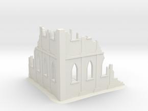 Warhammer 40K - Battlefield Ruins in White Natural Versatile Plastic