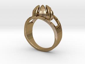 Matrix of Leadership in Polished Gold Steel: 10 / 61.5