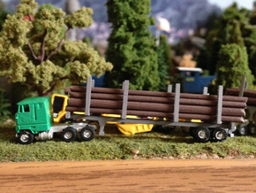 Logging Bunks For Trailers in Frosted Ultra Detail