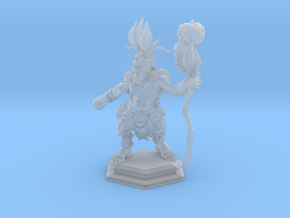 Orc Shaman / Mage / Sorcerer / Warlock in Smooth Fine Detail Plastic