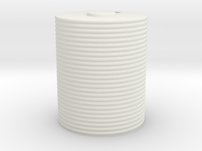 1/35 Scale Corrugated Iron Water Tank 5 ft 4 in Di in White Natural Versatile Plastic