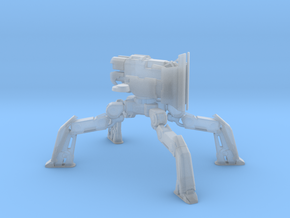 1/2000 War Robot Raijin (No Weapon) Bastion Mode in Smooth Fine Detail Plastic