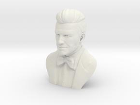 Hollow Of David Beckham in White Natural Versatile Plastic