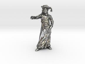 Infante Dom Henrique in Polished Silver: Medium