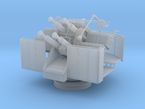 1/32 RNQF 2-pounder (40mm) quadruple elevated in Smooth Fine Detail Plastic