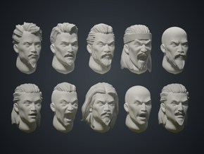 Warfaces 2 - AsianMale in Smoothest Fine Detail Plastic: Medium