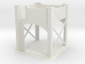 Warhammer 40K - Firing Platform in White Natural Versatile Plastic
