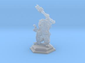Dwarf Mage / Sorcerer / Warlock / Wizard in Smooth Fine Detail Plastic