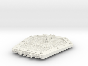 PH304 Zokukarn Superdreadnought in White Natural Versatile Plastic