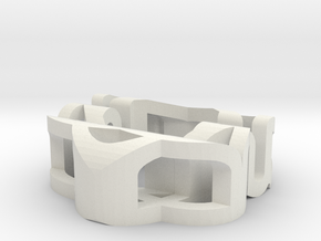 ASD Dual Art Sculpture in White Natural Versatile Plastic
