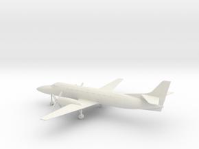 Fairchild Swearingen Metroliner III SA227 in White Natural Versatile Plastic: 1:100
