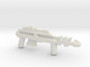 MOTU Inspired Custom Lego Webstor Blaster in White Natural Versatile Plastic