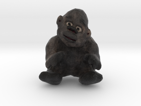 Gorilla Figurine in Full Color Sandstone