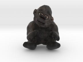 Gorilla Figurine in Full Color Sandstone