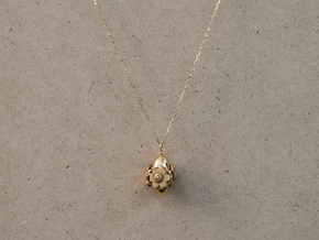 Anemone Necklace in 18k Gold