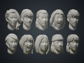 Warfaces2 - Asian Female in Smoothest Fine Detail Plastic