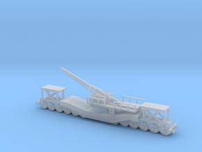 cannon de 240 1/200  railway artillery ww1  in Smooth Fine Detail Plastic