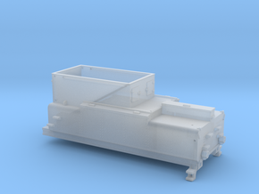 N Tender NS stoomlocomotief 4000/4700 in Smoothest Fine Detail Plastic