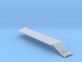 DeAgo Falcon Corridor - Straight Floor - Extended  in Smooth Fine Detail Plastic
