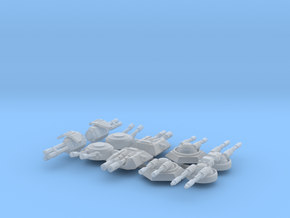 1/270 Turret Variety Pack #2 in Smooth Fine Detail Plastic
