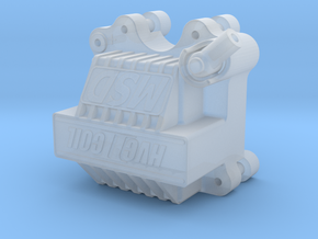 MCD HVC2 Coil in Smoothest Fine Detail Plastic