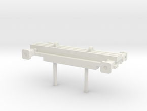 1/87 Front Stablizer from Aerialscope cab in White Natural Versatile Plastic
