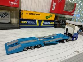 1/87 Truck Transporter  in White Processed Versatile Plastic